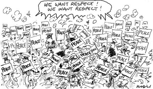 118873 600 Peace Protest cartoons