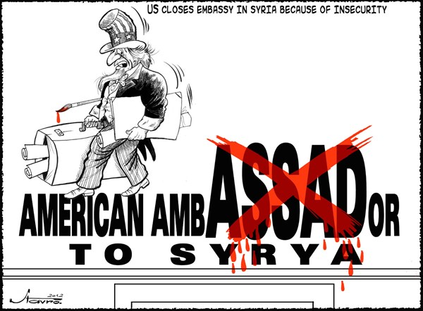 105948 600 US Embassy Closes in Syria cartoons