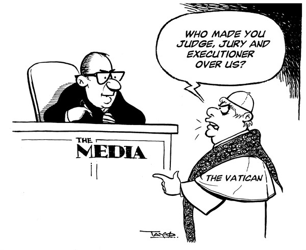 129038 600 The Media vs The Vatican cartoons