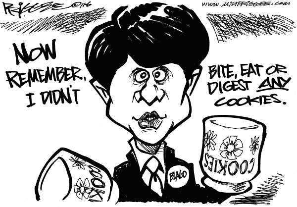 Milt Priggee - www.miltpriggee.com - Blago busted - English - rod balgojevich, illinois, governor, corruption, guilty, verdict
