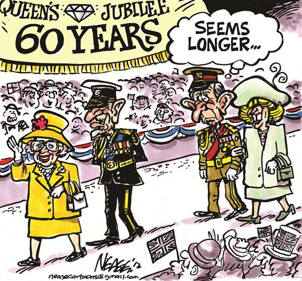 112884 600 Diamond Jubilee cartoons