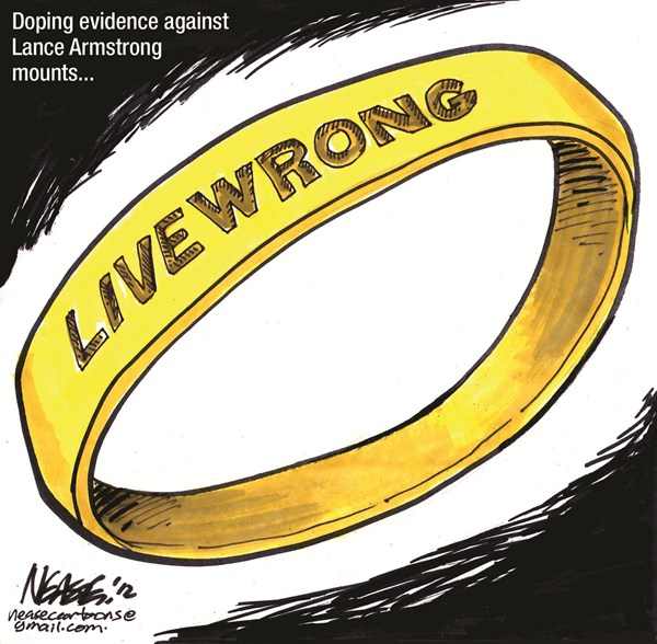 Livewrong © Steve Nease,Freelance,lance armstrong doping,live,cancer,cycling,doping,evidence,tour de france