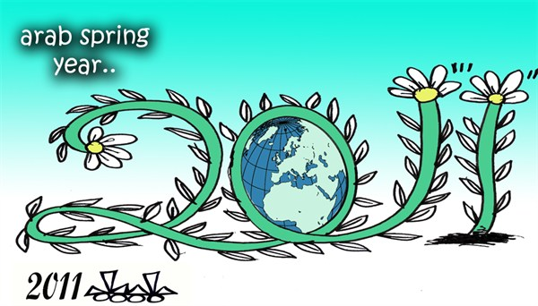 103742 600 Arab Spring Year cartoons