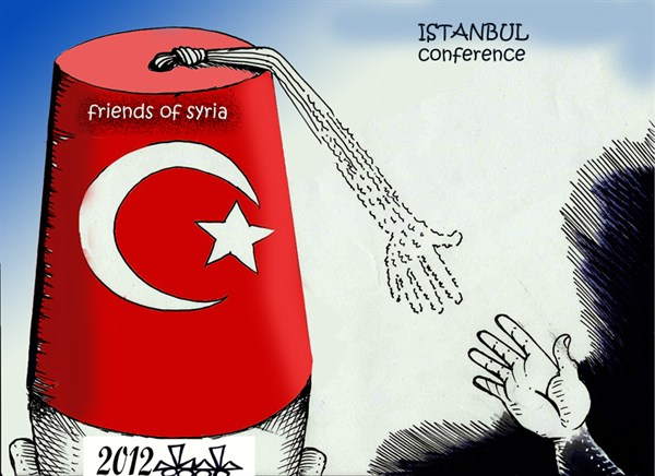 109166 600 Istanbul Conference cartoons