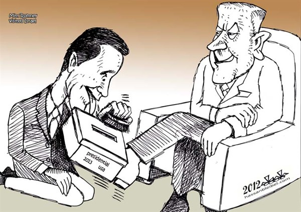 116107 600 Romney Visits Israel cartoons