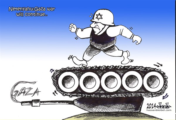 151369 600 Gaza Tank cartoons