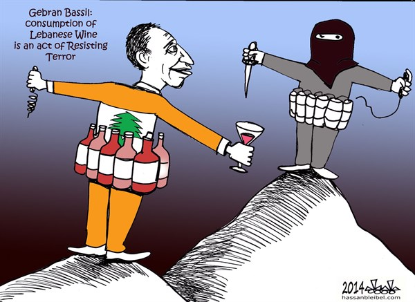 153860 600 Gebran Bassil cartoons