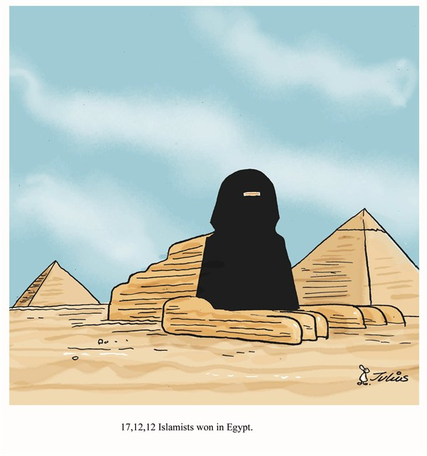 124097 600 Islamists in Egypt cartoons