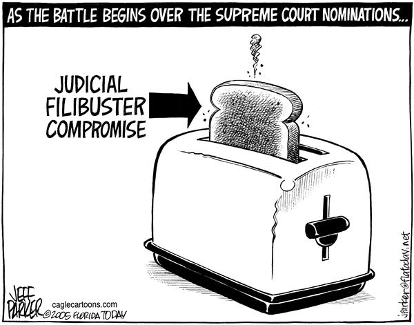 Parker - Florida Today - Toast - English - Supreme Court judicial nominee Senate