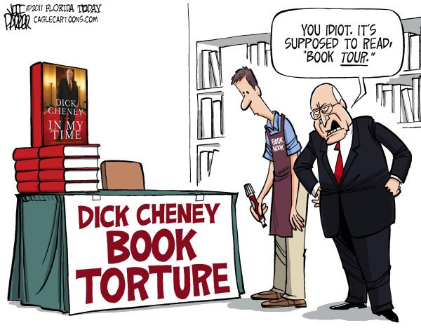 Parker - Florida Today - Cheney Book Torture - English - Dick Cheney, vice president, Bush, White House, book, In My Time, memoir, war, Iraq, torture, waterboarding