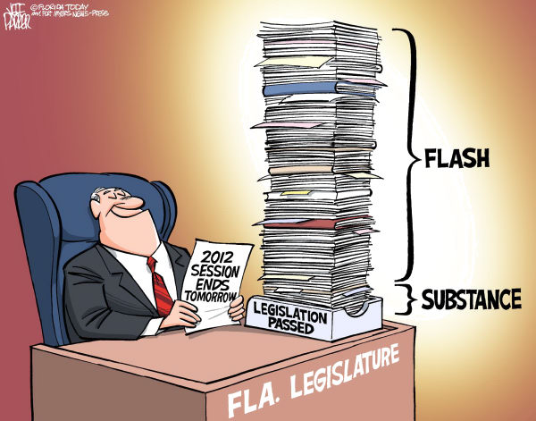 107737 600 LOCAL FL Legislative Session Ends cartoons