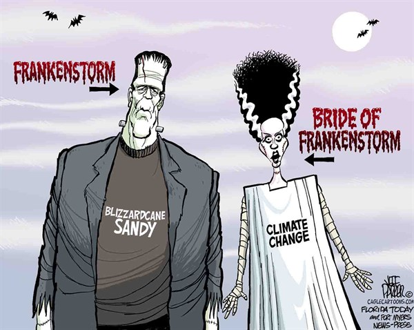 121402 600 Frankenstorm and Climate Change cartoons
