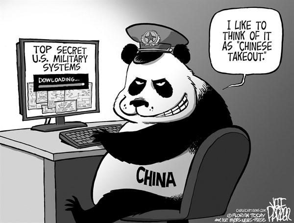 Jeff Parker - Florida Today and the Fort Myers News-Press - China Cyber Spying - English - china, cyber, spying, hacking, US, military, secrets, weapon, systems, internet, espionage