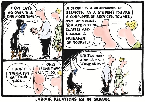 111981 600 Labor Relations 101 in Quebec cartoons