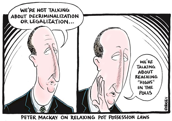 Relaxing Pot Possession Laws © Ingrid Rice,British Columbia, Canada,