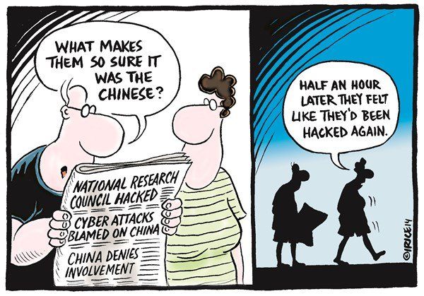 Being Hacked Again © Ingrid Rice,British Columbia, Canada,hacked,chinese,council,china,attack