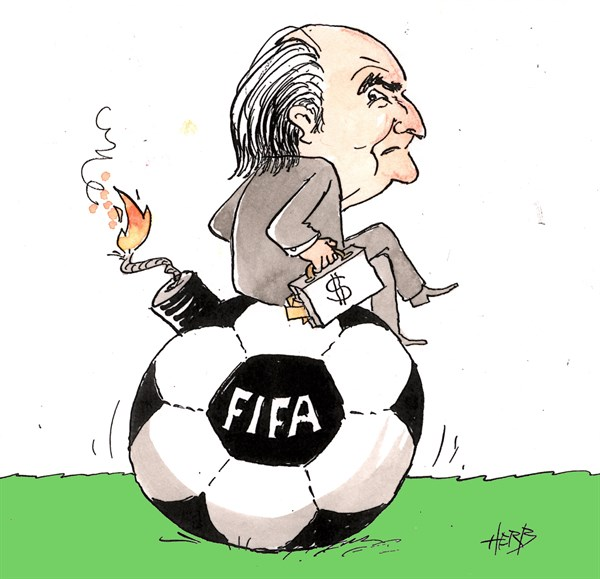 FIFA Scandal © Herbjorn Skogstad,Norway,fifa,soccer,football,corruption,bribery,scandal,fifa-corruption