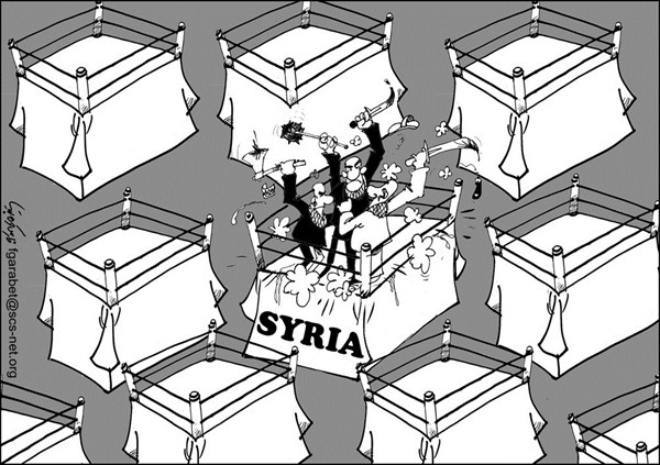 Syria Fighting © Fares Garabet,Syria,syria,fighting,regime,weapons,blood,killing