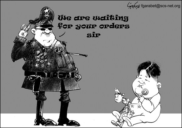 Waiting for Orders © Fares Garabet,Syria,north korea nukes,north korea,nuclear,orders,kim jong un