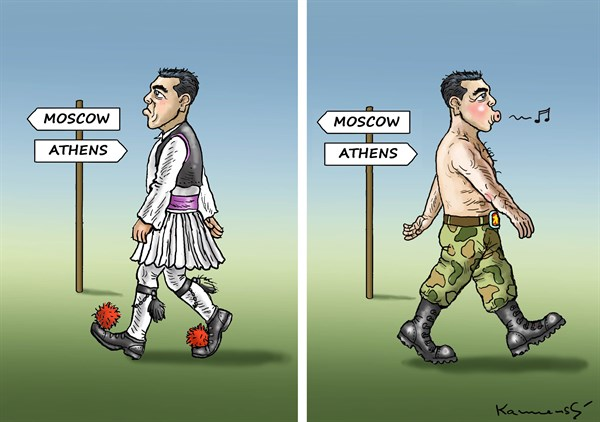 Tsipras Goes to Moscow © Marian Kemensky,Slovakia,tsipras,moscow,athens