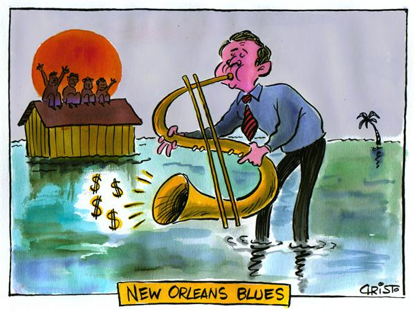 19582 600 New Orleans Blues cartoons
