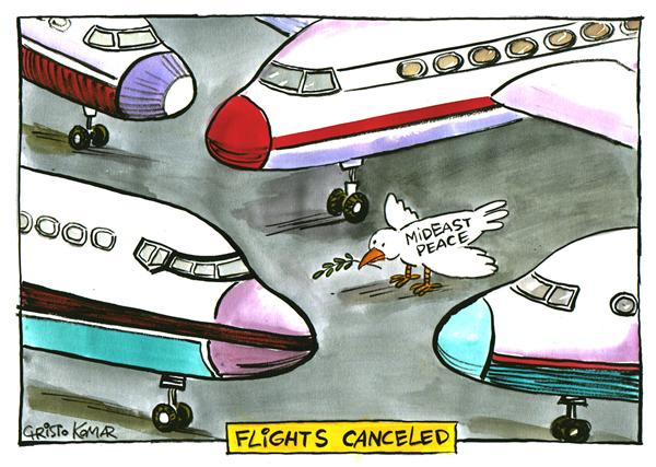 29544 600 Airlines canceled flights cartoons
