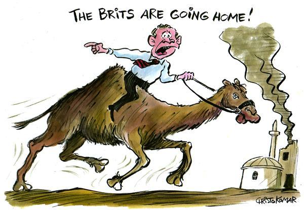 35230 600 The Brits are not coming cartoons