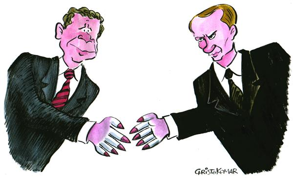 38768 600 Bush   Putin meeting cartoons