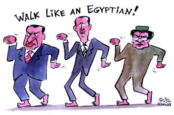 89354 600 Walk like an Egyptian cartoons