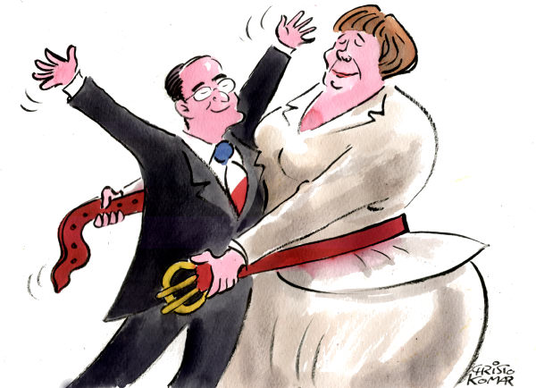 Christo Komarnitski - Bulgaria - Hollande meets Merkel - English - 