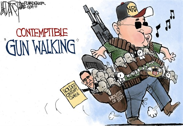 114466 600 Gun Walking cartoons