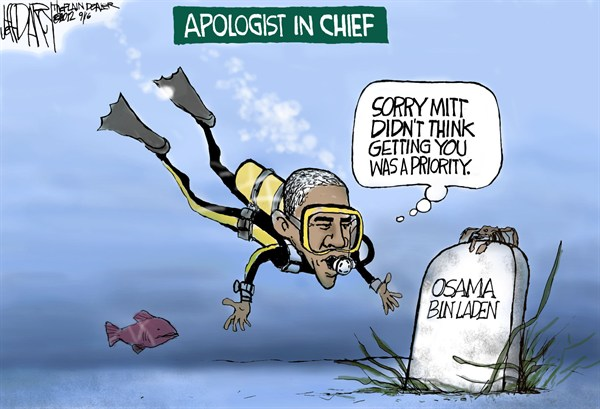 Jeff Darcy - Northeast Ohio Media Group - Apologist in Chief - English - obama,osama,apologist,chief