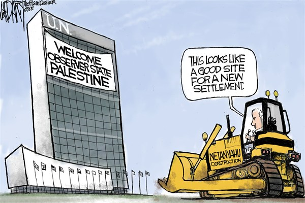 Jeff Darcy - Cleveland.com - New Settlement - English - palestine,settlement,state,netanyahu,un