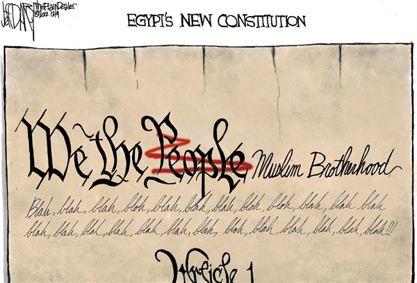 Jeff Darcy - The Cleveland Plain Dealer - Egypts New Constitution - English - egypt,constitution,muslim,brotherhood