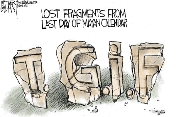 Jeff Darcy - Northeast Ohio Media Group - TGIF - English - end,mayan,fragments,doomsday,mayan-calendar-2,mayan-calendar-2012