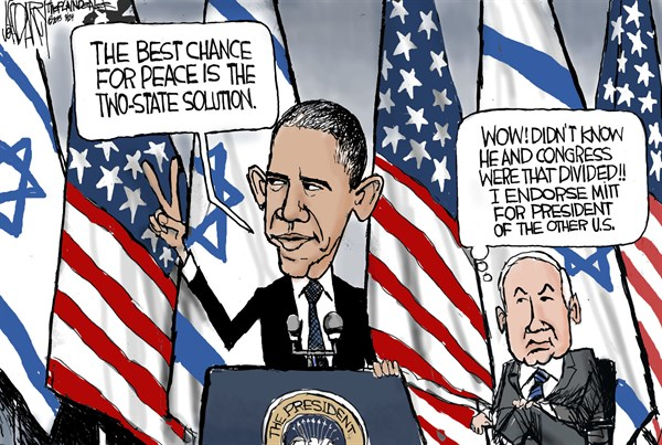 129262 600 Obama Israel speech cartoons