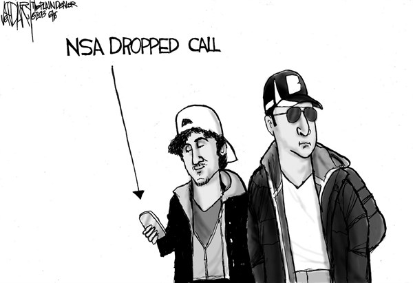 Jeff Darcy - Northeast Ohio Media Group - NSA dropped call - English - NSA, Boston bombers
