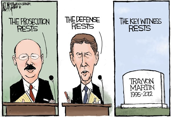 Jeff Darcy - Northeast Ohio Media Group - Zimmerman trial rests - English - George Zimmerman, Trayvon Martin