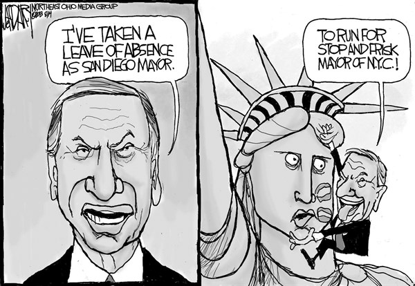 Jeff Darcy - Northeast Ohio Media Group - Filner stops and frisks - English - Mayor Filner, Stop-and-Frisk