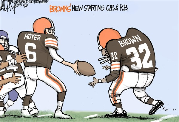 Jeff Darcy - Northeast Ohio Media Group - Browns trade back - English - Trent Richardson, Cleveland Browns