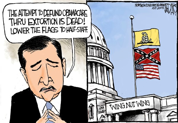 Jeff Darcy - Cleveland.com - Ted Cruz mourns loss - English - Ted Cruz, Tea Party, Defund Obamacare