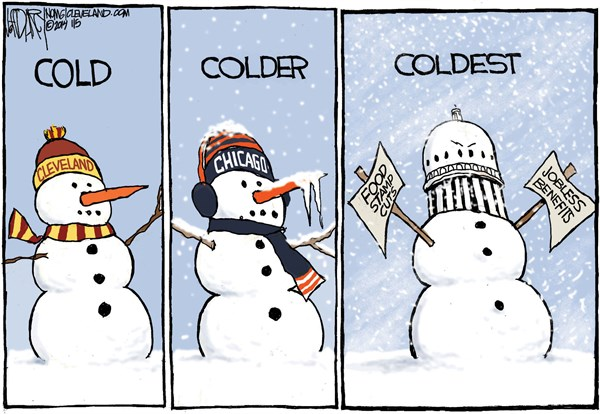 142633 600 Cold temps and benefit cuts cartoons