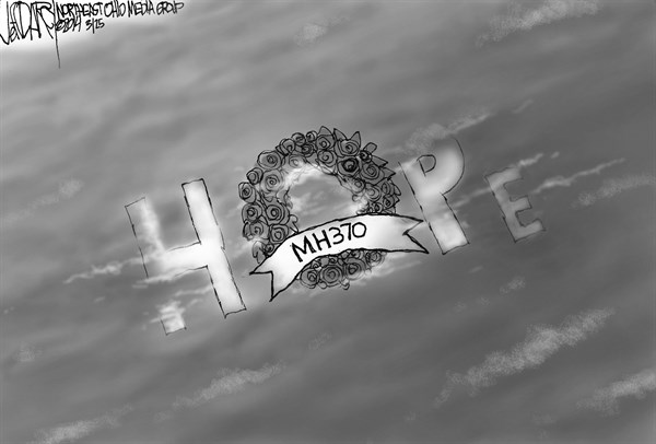 Jeff Darcy - Cleveland.com - Flight MH370 lost at sea - English - Malaysian Flight MH370