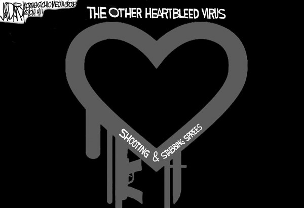 Jeff Darcy - Northeast Ohio Media Group - Heartbleed  Shooting- Stabbing sprees - English - Heartbleed virus