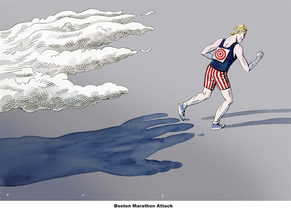131348 600 Boston Marathon Attack cartoons