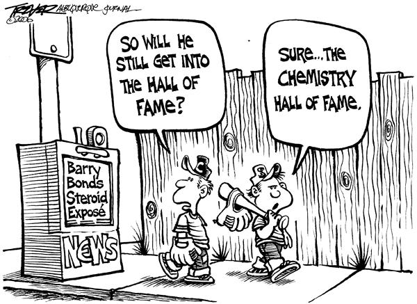 25052 600 Hall of Fame cartoons