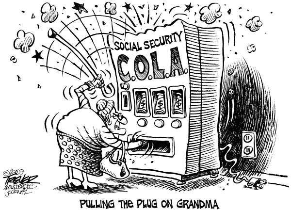John Trever - The Albuquerque Journal - COLAs - English - Social Security, Benefits, Cost of Living Adjustment, COLA, Inflation, Entitlements, Trever