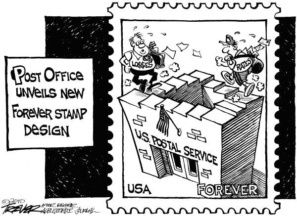 Forever Stamp © John Trever,The Albuquerque Journal,Post, Office, US Postal Service, Forever stamp, Postage, Postal rates, Trever