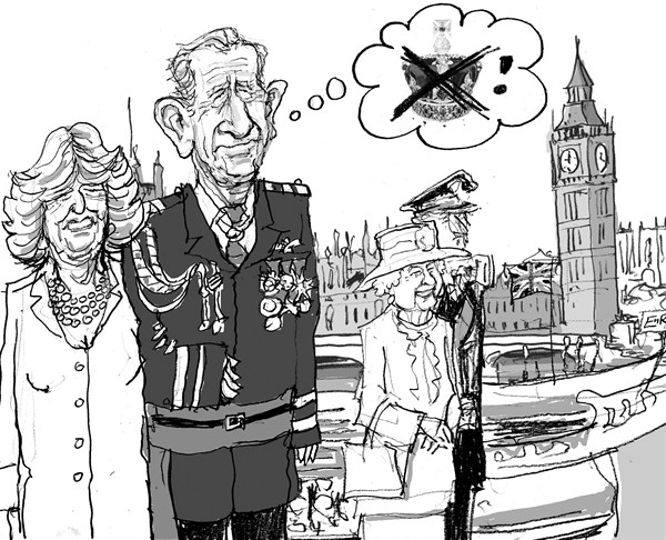 112985 600 Diamond Jubilee cartoons