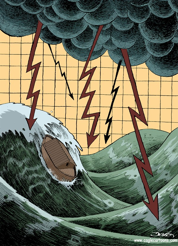 59067 600 Stock Market Storm cartoons